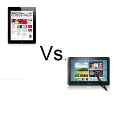 The new iPad vs Samsung Galaxy Note 10.1