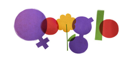 Google doodle celebrates International Women's Day... plus the one you'll never see