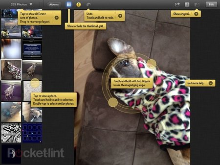iPhoto app for iPhone and iPad pictures and hands-on