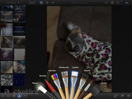 iPhoto app for iPhone and iPad pictures and hands-on - photo 3
