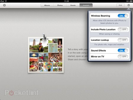 iPhoto app for iPhone and iPad pictures and hands-on - photo 7