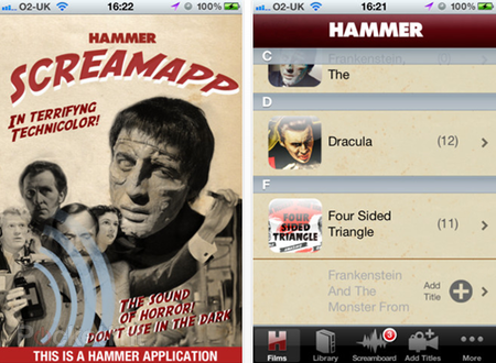 APP OF THE DAY - Hammer Screamboard review (iPhone)
