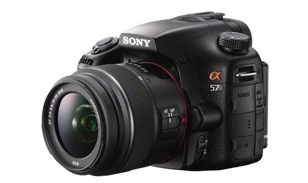 Sony Alpha A57 picture leaks, could launch this week