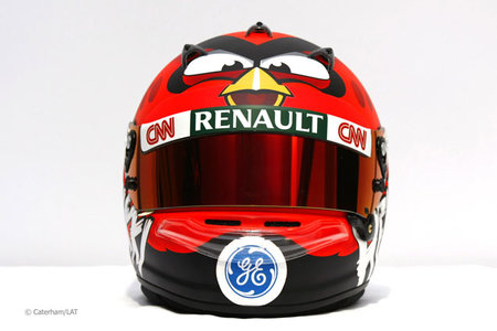 Heikki Kovalainen to wear Angry Birds helmet for F1 2012