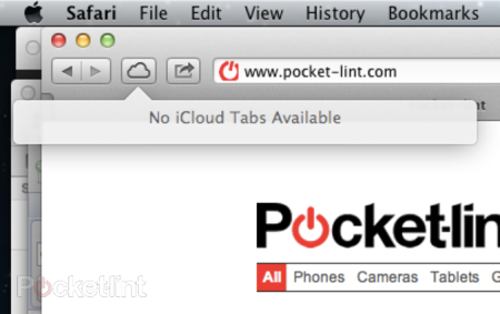 iCloud Safari Tab Syncing lets you sync your web browsing between Apple devices