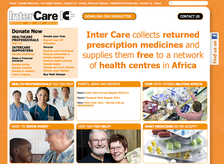 WEBSITE OF THE DAY: Inter Care