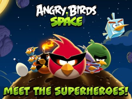 Angry Birds Space blasts off for iOS, Android, PC and Mac