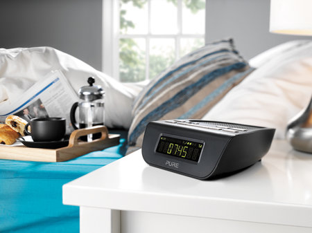 Pure Siesta Mi Series 2 DAB radio alarm clock adds new display and alarm features