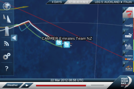Volvo Ocean Race: The app that lets you track the action