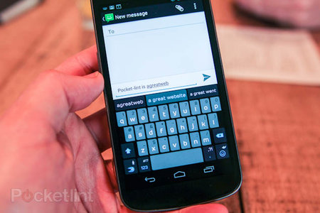 New Swiftkey 3 removes the need for spacebar