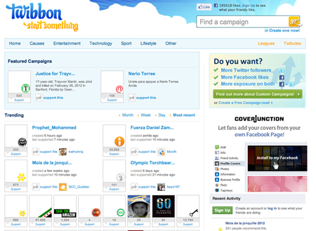 WEBSITE OF THE DAY: Twibbon