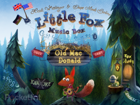 APP OF THE DAY: Little Fox Music Box review (iPad / iPhone)