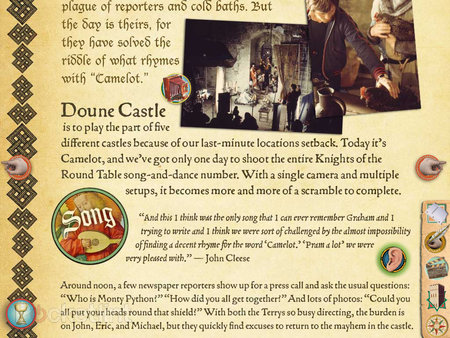 APP OF THE DAY: Monty Python The Holy Book of Days review (iPad) - photo 11