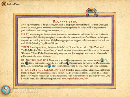 APP OF THE DAY: Monty Python The Holy Book of Days review (iPad) - photo 16