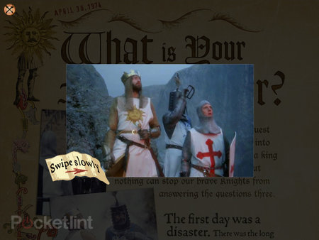 APP OF THE DAY: Monty Python The Holy Book of Days review (iPad) - photo 6