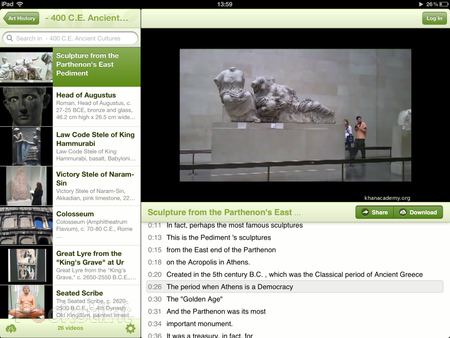 APP OF THE DAY: Khan Academy review (iPad) - photo 2