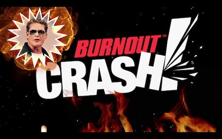 The Hoff demos his driving skills on Burnout CRASH! (video) - photo 4