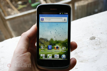 Huawei Ascend G 300 pictures and hands-on