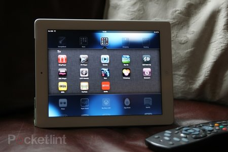 Most tablet owners use them while watching TV