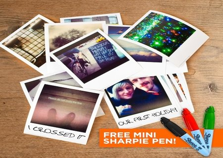 Print your Instagram snaps as retro style Polaroid photos