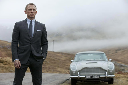 James Bond 007 Skyfall cars revealed with official Scalextric set