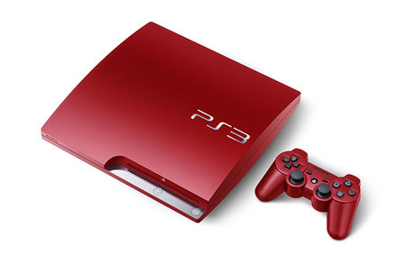 Sony PlayStation 3 in scarlet red available from 4 May