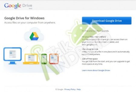 Google Drive detailed in leaked documents and app