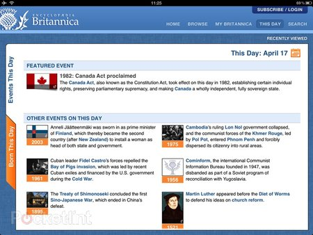 Encyclopaedia Britannica iPad/iPhone app lets you have an answer for everything for £1.99 a month - photo 3