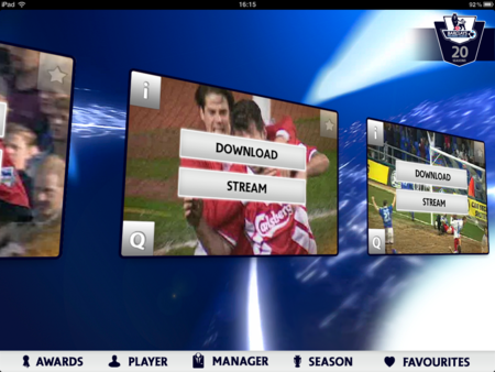 APP OF THE DAY: Premier League 20 Seasons review (iPad / iPhone) - photo 3