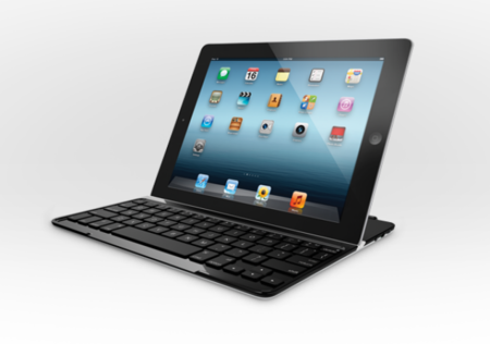 Logitech Ultrathin Keyboard Cover for iPad lets you pretend you've got a Transformer Prime