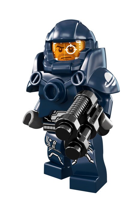 Lego Galaxy Patroller minifig - toughest looking Lego character yet