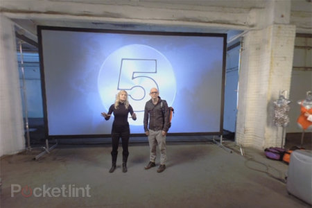 Channel 5 broadcasts first 360-degree dual-screen mobile and TV promo