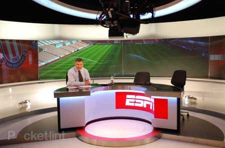 Behind the scenes at the ESPN studios