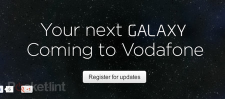 Vodafone offers next Samsung Galaxy registration page