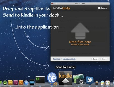 Send to Kindle now available to Mac users