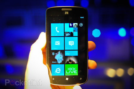ZTE Tania coming to Virgin Media, Windows Phone on the cheap