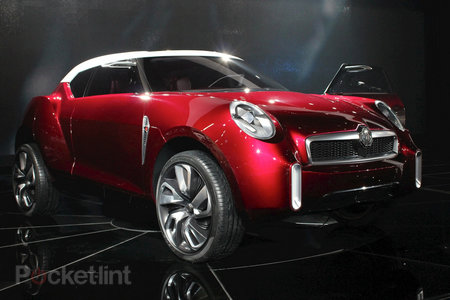 MG Icon concept pictures and hands-on