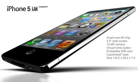 Liquid Metal iPhone 5 concept you'll want to own right now