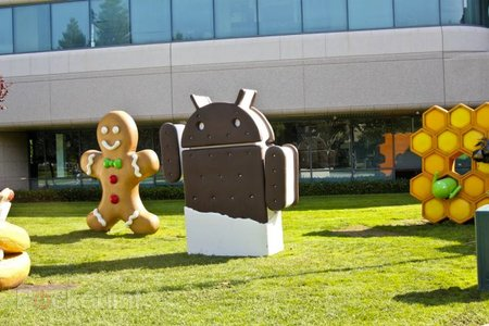 Gingerbread still most popular version of Android, Ice Cream Sandwich still playing catch-up