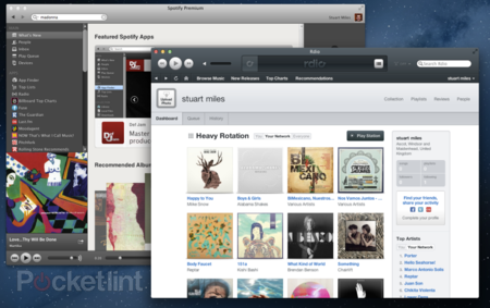 What is Rdio and how does it compare to Spotify?
