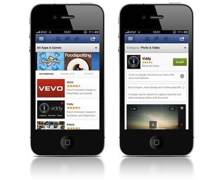 Facebook launches social App Center - photo 3