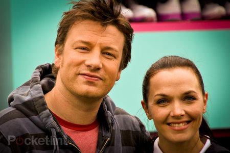 Jamie Oliver and Victoria Pendleton on hand to launch Samsung Hope Relay app for Android and iPhone