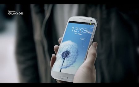 Samsung Galaxy S III official TV advert debuts