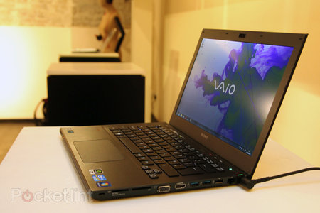Sony Vaio S Series pictures and hands-on