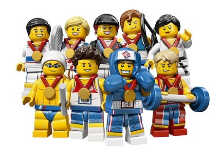 Lego creates exclusive Team GB Olympic minifigs - photo 1