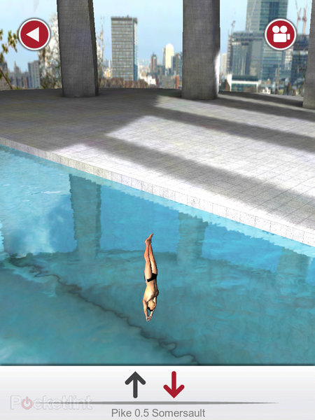 APP OF THE DAY: Tom Daley Dive 2012 review (iPad / iPhone / iPod touch) - photo 13