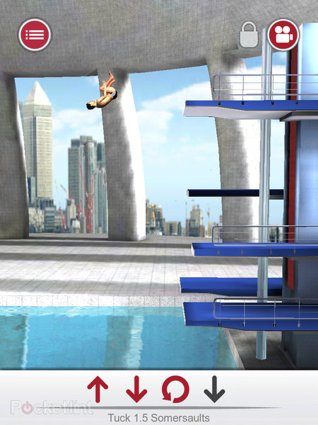APP OF THE DAY: Tom Daley Dive 2012 review (iPad / iPhone / iPod touch) - photo 5