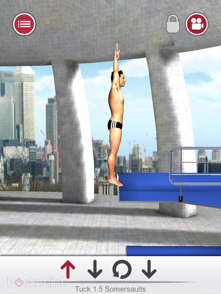 APP OF THE DAY: Tom Daley Dive 2012 review (iPad / iPhone / iPod touch) - photo 6