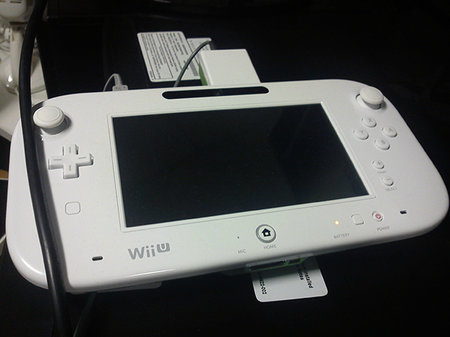 Wii U controller redesigned - thumbsticks changed and more