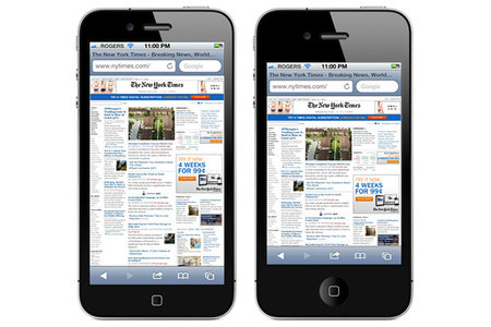 Apple testing 3.95-inch iPhone 5, with 16:9 display